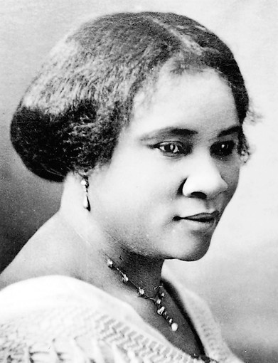 Sarah Breedlove who was later known as Madam C.J. Walker, Walker Manufacturing Co.